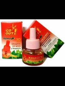 (96594) 280762 Жидкость От мух 30мл (30ночей) б/запаха Go Out (36)