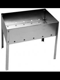 Мангал нержавейка 400х250х140 (без шампуров) в коробке (0,8мм)