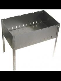 (96484) М-37 Мангал 500х300х140 с барашками (без шампуров) в коробке (1,2мм)
