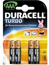 286 DURACELL TURBO LR03 (4/40)