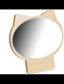 347-074 Зеркало настольное 17,3х17см