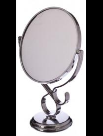 347-022 Зеркало настольное круглое 17,5х29х10см 1018