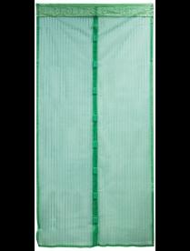 """311252 Сетка антимоскитная на магнитах """"Капутомоскито"""" KM-G, цвет зеленый 100х210см"""