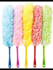 445-113 VETTA Сметка для удаления пыли, пластик, текстиль 55х7см, 4 цвета, H320