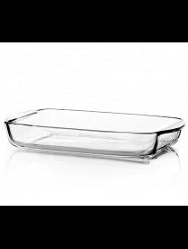 (96752) 59006/1093247 Боржам-форма прямоугольная 1,95л (336*190*50мм) с пластик. крышкой подарочная