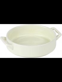 Pomi d'Oro PCE-580049 Форма для запекания круглая. Размер 15*12,5*4,5см. Материал керамика.