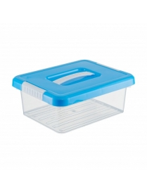 (98156) FB2030 Ящик для хранения Standart с ручкой 3л 250х200х97мм