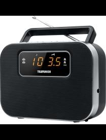 TELEFUNKEN TF-1640 (черный с серебром)