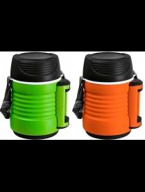 074035 Термос-контейнер пищевой с рем-м, корп PP, объем -1,3 л, колба - нерж ст, серия - BELLO