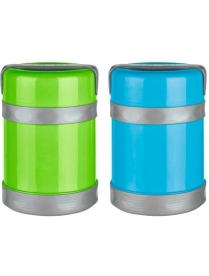 074036 Термос-контейнер пищевой, корп PP, объем -1,2 л, колба - нерж ст, серия - BELLO