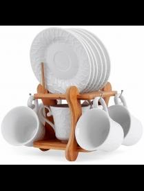 Набор чайный JEWEL Pumpkin 12 предметов (фарфор) ПС00033-12