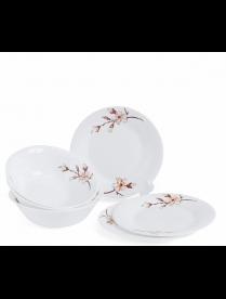 (98511) ПКЭ00046 Набор столовый JEWEL Астия 6 предметов (стеклокерамика)