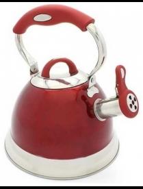 (97474) КТ-116R Чайник 3,0л со св индук КРАСНЫЙ КТ-116R