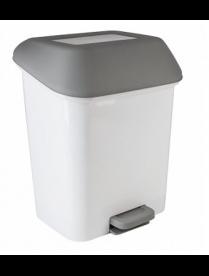"""(098191) SV4061КФ Контейнер для мусора с педалью """"Квадра"""" 15 л"""