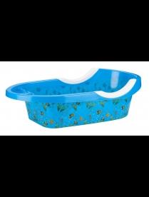 """Ванночка детская """"Рыбки"""" синий М6508"""