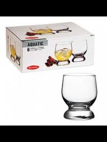 (30353) 42973B Набор стаканов Акватик 220мл 6шт для виски