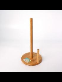 (085470) КТ-ДП-01 Держатель д/бумажных полотенец бамбук Д160*330мм №1