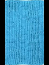 (098682) 60610 Коврик из микрофибры Эйя 50*80см, высота ворса 1 см, плотность: 1100 гр/м2. (Голубой)