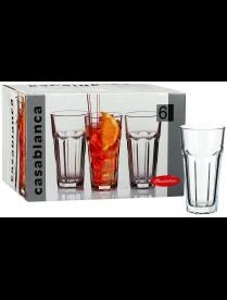 (024093) 52706BT Набор стаканов Касабланка 6шт 365мл высокие