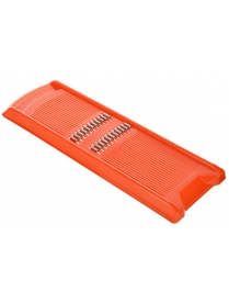 885-102 Тёрка для корейской моркови 27,5х8,7х1,6см, ТК-1