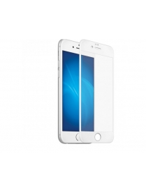 Стекло защитное Full Glue Krutoff для iPhone 6 Plus/6S Plus белое 02692