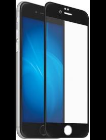 Стекло защитное Full Glue Krutoff для iPhone 6 Plus/6S Plus черное 02693