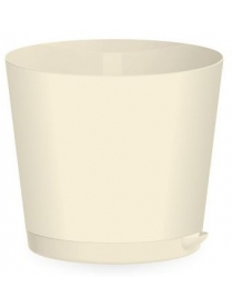 (098164) ING47012ЦВ-НК Горшок для цветов Easy Grow D120mm 0,75л цветн
