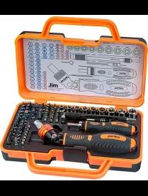 Perfeo набор инструмента отверток Jim 69 в 1