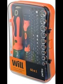 Perfeo набор инструмента отверток Will 66 в 1