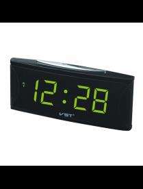 VST719T-2 часы 220В зел.цифры (Говорящие)