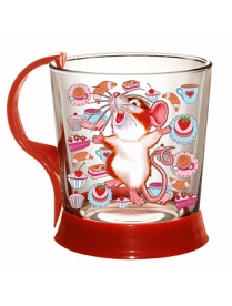 (00611) Кружка для чая 250 мл. арт.1606 -Д (Символ года)