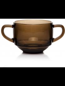 (100362) 53772SLBZT Кружка для супа БРОУНЗ 480 мл (закал.)