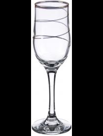 (098424) Набор бокалов 200мл. арт.1712- З (спираль),6шт.