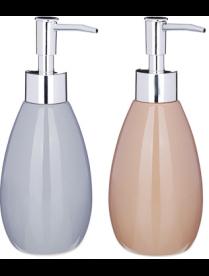 "463-927 VETTA Дозатор для жидкого мыла, ""Модерн"", керамика, 2 цвета"