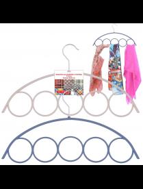(100879) Вешалка для шарфов и платков. 5 колец VL26-65