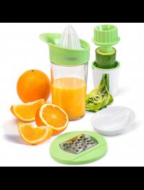 (101253) Набор для ручного отжима сока и измельчения овощей TalleR TR-2584