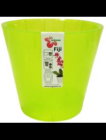 (101117) ING1559ЗЛ Горшок для цветов Фиджи Орхид D 230 мм/5 л зеленый