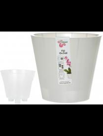 (101115) ING1558БЛПЕРЛ Горшок для цветов London Orchid D 160 мм/1,6 л сливочный перламутр