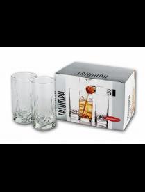 (016687) 41630B Набор стаканов Триумф для коктейля 290мл 6шт 41630 (8)