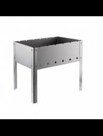 (101320) СП0014 Мангал 500х300х140 (без шампуров) в коробке (0,8мм) М-14