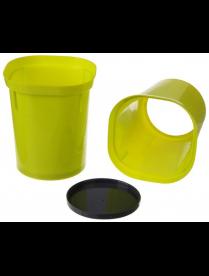 (101415) Стаканчик для рассады 250 мл. (желтый цвет)