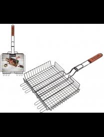 999660 Решетка для барбекю ECOS-22139W с антипригарным покрытием, размер: 31x24x5см