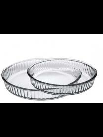 (101980) 159022 Набор посуды для СВЧ 2 пр (круглые формы для запекания d 320 мм + d 260 мм) 2,6 л+1,