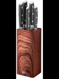 LR05-102 LARA <Wood> Подставка для ножей универсальная