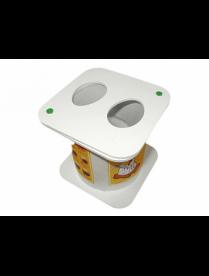 Овоскоп ОВ-6 пластик (малый на 2 куриных яйца) (арт 2)