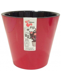 (101109) ING1555РБ Горшок для цветов Фиджи D 230 мм/5 л Рубин