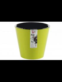 (101104) ING1554СЛ Горшок для цветов Фиджи D 200 мм/4л салатовый