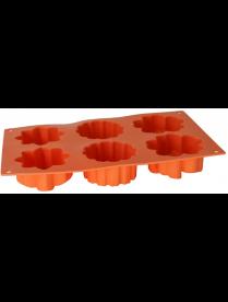 Pomi d'Oro P-590057 Mileda Форма для выпечки 6 кексов