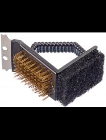 101-014 GRILLBOOM Щетка для чистки мангала 3 в 1