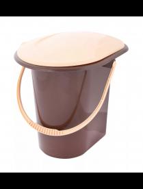 М7619 Ведро-туалет 18л (коричневый)